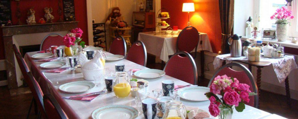 Logies met ontbijt in de Auvergne van Midden Frankrijk (afslag 11 Montmarault)