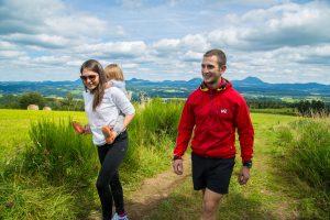 Randonnee Walking Wandelen Auvergne regio Pays des Combrailles
